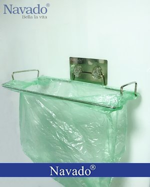 Kệ inox đựng rác tiện ích cho bếp GS-6003