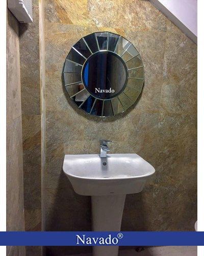 Gương nghệ thuật treo tường phòng tắm UFO
