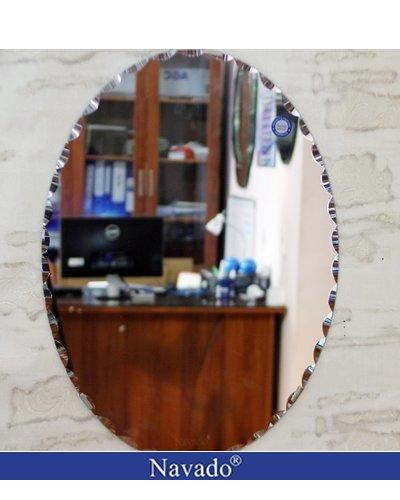 Gương elip nhà tắm Nav 508C