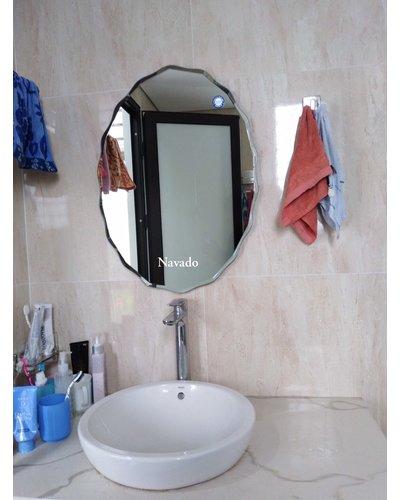 Gương elip treo phòng tắm NAV 542C