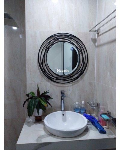 Gương decor treo tường phòng tắm Galaxy 60cm