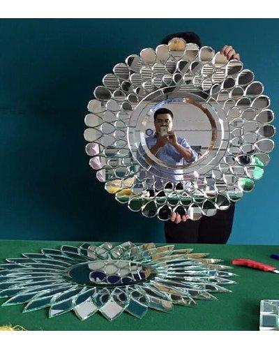 Gương nghệ thuật trang trí treo tường Peacock
