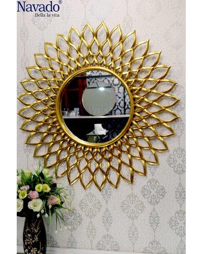 Gương phòng khách nội thất tân cổ điển Electra