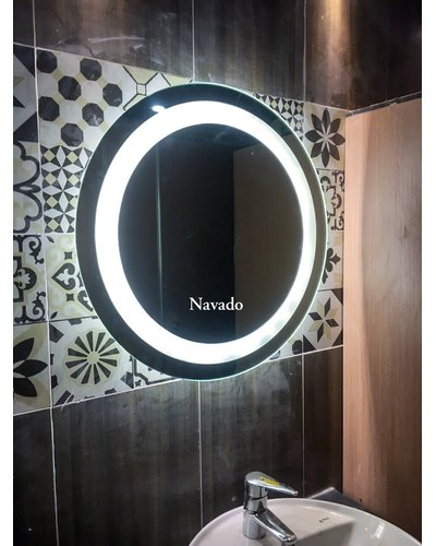 Gương đèn led phòng tắm cao cấp 60cm