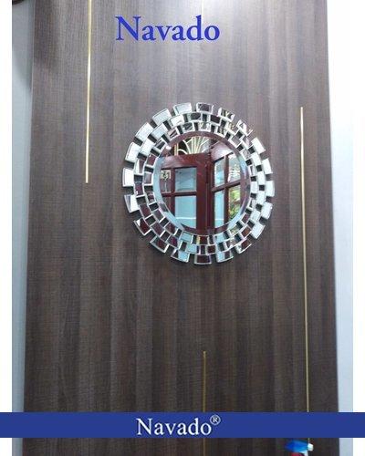 Gương hiện đại đẹp treo tường sunset 90cm
