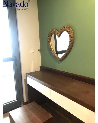 Gương trang điểm phòng ngủ đẹp Muse