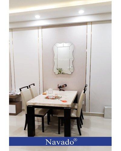 Gương trang trí bàn ăn phòng khách Atlantic