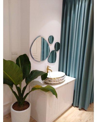 Sản xuất gương nghệ thuật phòng tắm Bãi Đá Cuội