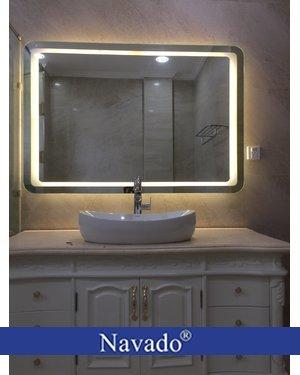 Sản xuất gương đèn led theo kích thước 700 x 1200