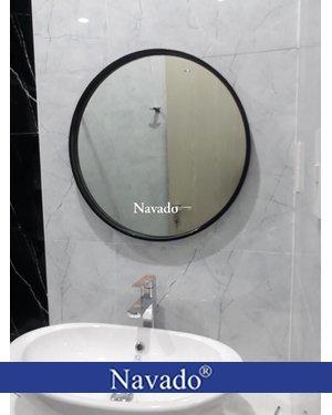 Sản xuất gương tròn phòng tắm tròn 60cm