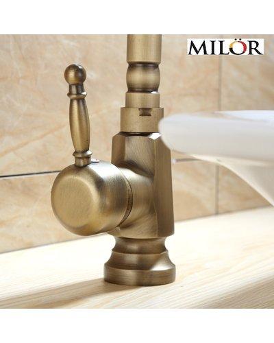 Vòi đồng cổ decor bàn lavabo đẹp ML2004