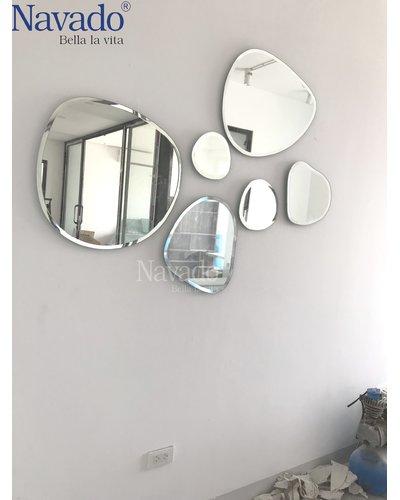 Gương decor theo bộ