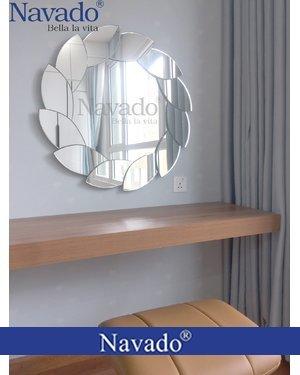 Gương nghệ thuật trang điểm phòng ngủ