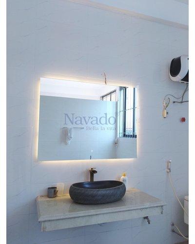 Gương nhà tắm có đèn LED (Hình Chữ nhật)