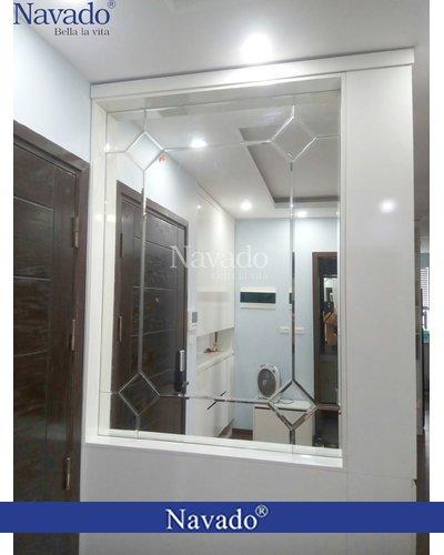 Gương ghép dán tường nghệ thuật TP.Hồ Chí Minh