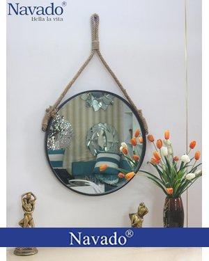 Gương vành thép dây thừng