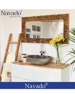 Chậu Lavabo đẹp tự nhiên phòng tắm