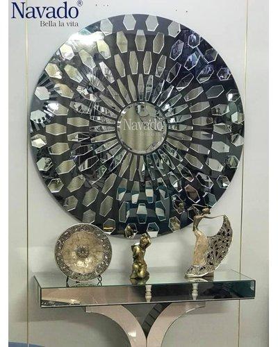 Gương cao cấp trang trí phòng khách Roxana