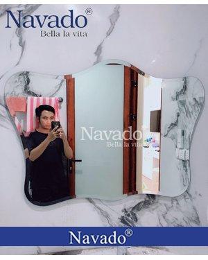 Gương cao cấp gắn tường nhà tắm NAV 106D