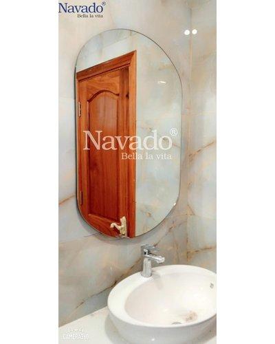 Gương Bỉ bo hai đầu phòng tắm cao cấp NAV 104C