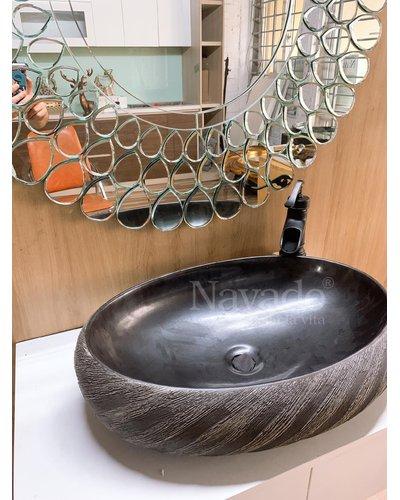 Chậu nghệ thuật phòng tắm BIANCO 175