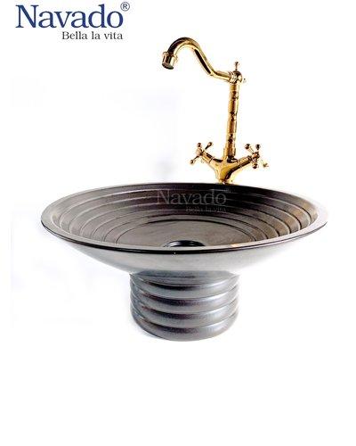 Vòi đồng gắn chậu lavabo phòng tắm cao cấp NAV 2010