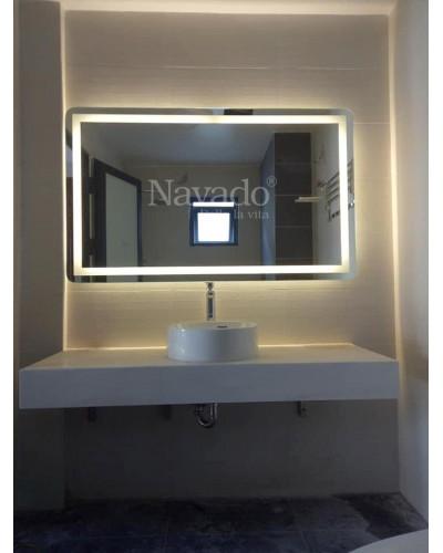 Gương đèn led chũ nhật 700 x 900 cm