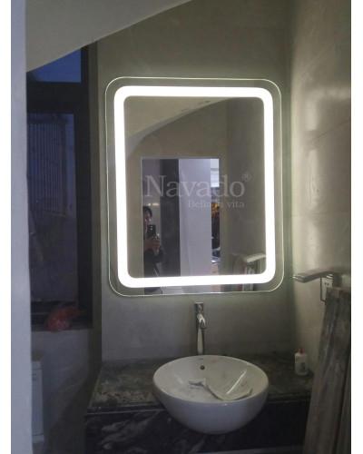 Sản xuất gương đèn led phòng tắm 60 x 90cm