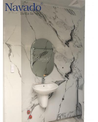 Gương phòng tắm treo tường decor NAV104C