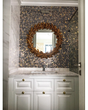 sản xuất gương tân cổ điển phòng tắm 80cm