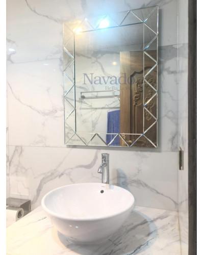 Sản xuất gương nghệ thuật nhà tắm NAB 910