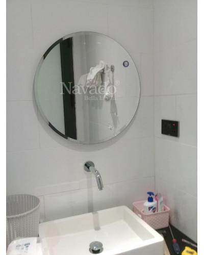 Gương tròn đơn giản siêu đẹp