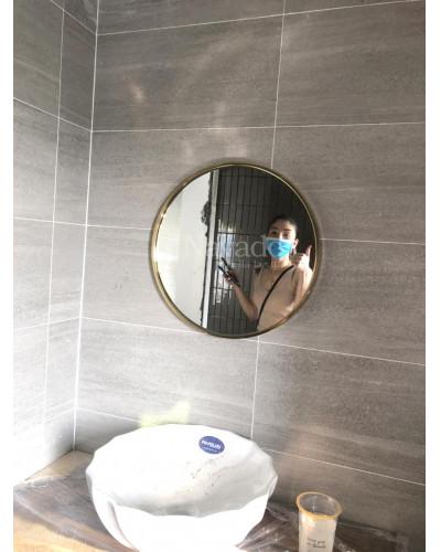 Gương vành mạ vàng (60cm)