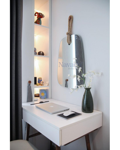 Gương trang điểm dây thừng phòng ngủ cao cấp