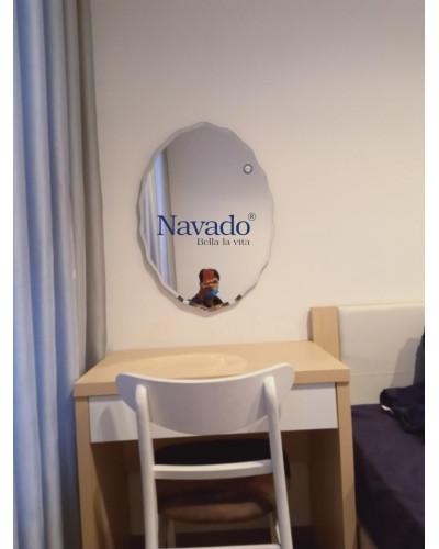 Gương bàn trang điểm nghệ thuật gắn tường