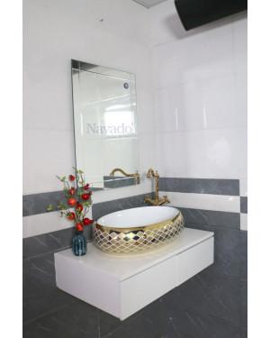 Gương phòng tắm cao cấp mài vát