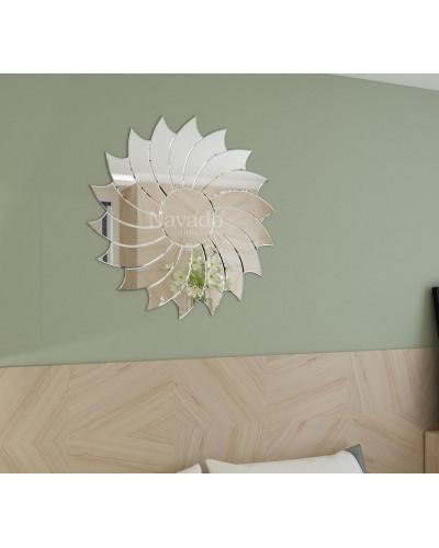 Gương treo tường phòng khách Villa