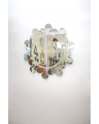 Gương nghệ thuật Leola phi 80cm