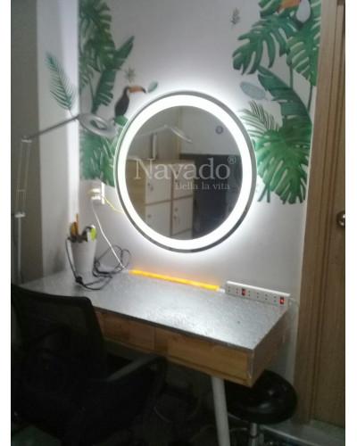 Gương tròn đèn led size 60cm