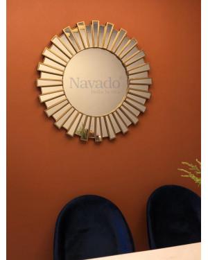 Gương tân cổ điển Athena size 80cm