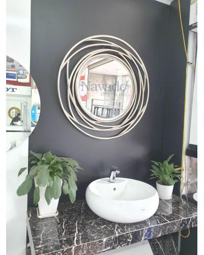 Gương Julia bạc size 80cm