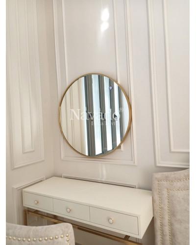 Gương khung Inox size 60cm