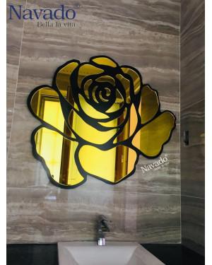 Gương phòng tắm Rose vàng