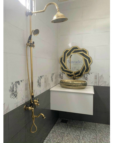 Gương phòng tắm Spider size 80cm
