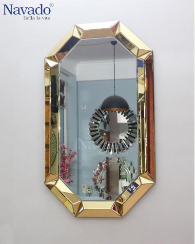 Gương trang trí nghệ thuật Brian size 600x1000