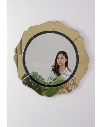 Gương trang điểm nghệ thuật Gerbera Hoa Đồng Tiền