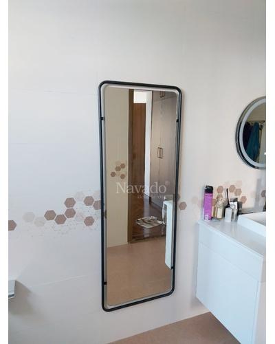 Gương khung thép mạ đen 600-1600mm