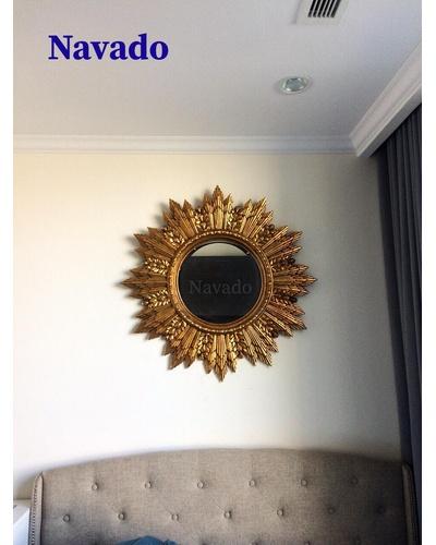 Gương tân cổ điển phòng khách ARES