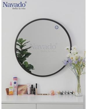 Gương tròn màu đồng 600mm