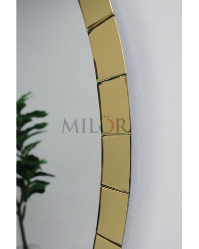 Gương elip decor viền gương vàng mới nhất